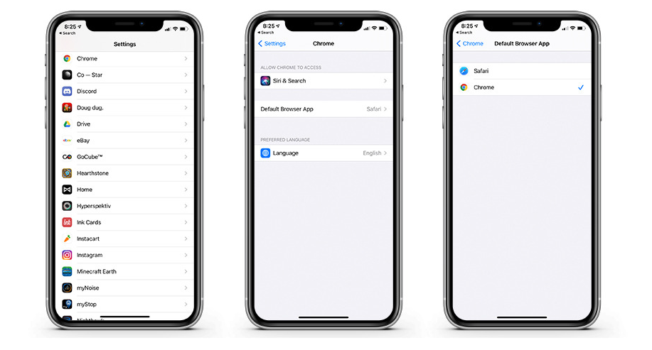 In iOS 14, you can choose the default browser and mail, but something still went wrong 1